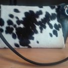 Cowhide Hair On Woman Purse Shoulder Hand Bag Cow Hide Fur Handbag Ladies Purse