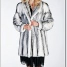 Soft Elegant Norka Mink Fur Coat Beautiful Minkcoat Women's Winter Coat Jacket