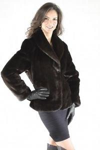 Mink Fur Coat Winter Snow Jacket Ladies Minkcoat Norka Women's Fur Jackets