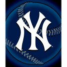"New York Yankees Fleece MLB Blanket (Flashball Series) by Northwest (50""""x60"""")"