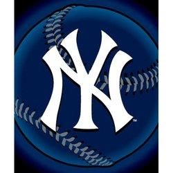 "New York Yankees Fleece MLB Blanket (Flashball Series) by Northwest (50""""x60"""")"