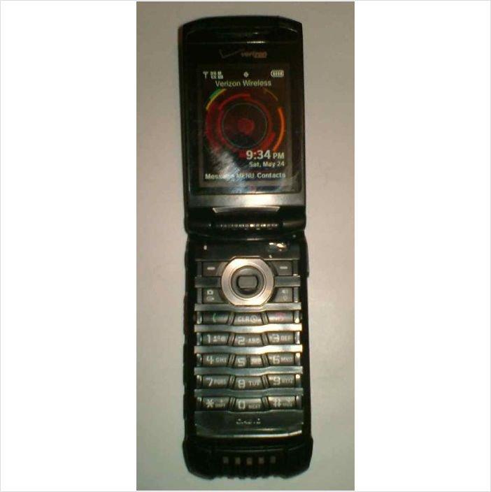 Casio G'zOne C781 Ravine 2 (Verizon) Rugged Cellular Phone w/ charger