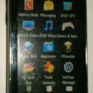 Samsung Solstice SGH-A887 - Black (AT&T) smartphone with charger