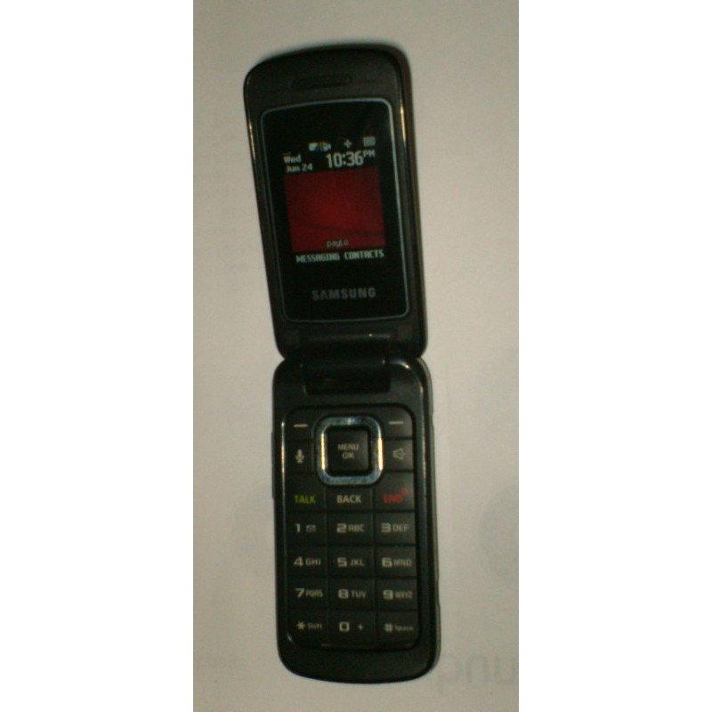 Samsung Entro SPH-M270 - Black (Virgin) Cellular Phone