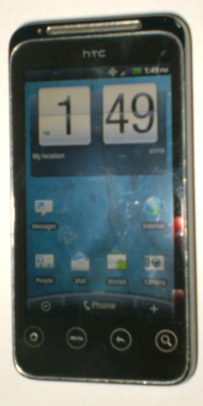 HTC Detail 4G (Unlocked) Smartphone with charger