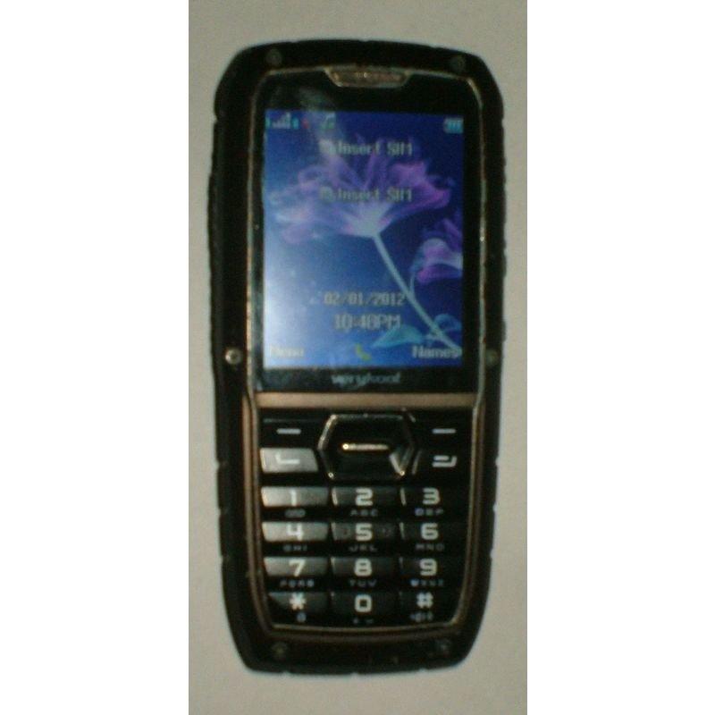Verykool R25 Rugged Global Unlocked QuadBand GSM Dual-SIM Cell Phone