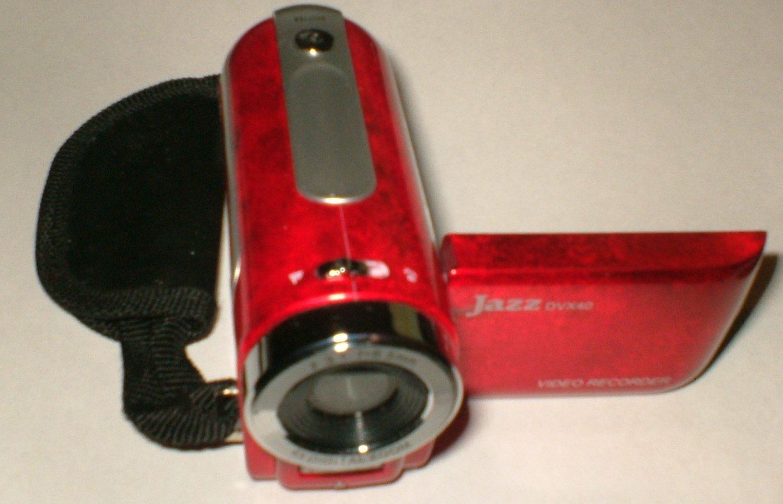 Jazz DVX40 digital camera / camorder comes with 2GB SD card