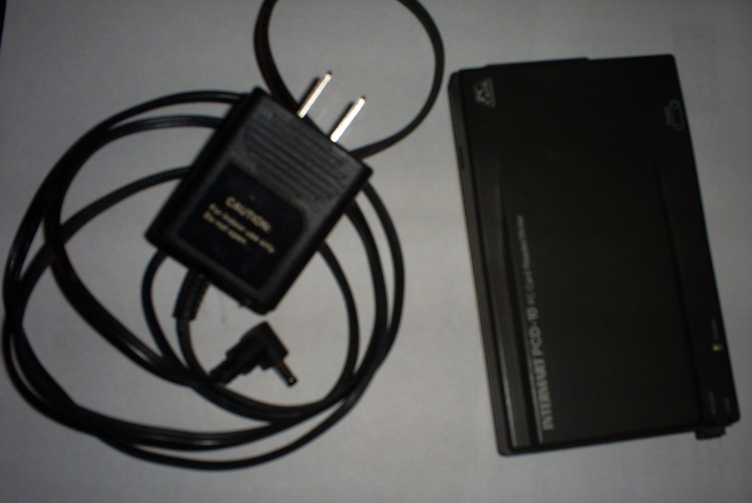 Intermart PCD-10 PC card reader / writer - SCSI with cable & power supply
