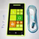 HTC 8X windows Smartphone (Unlocked) with USB cable