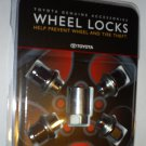 Toyota Wheel Locks - Accessories
