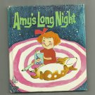 Amy's Long Night, 1970 A Vintage Whitman Tell-A-Tale Children's Book