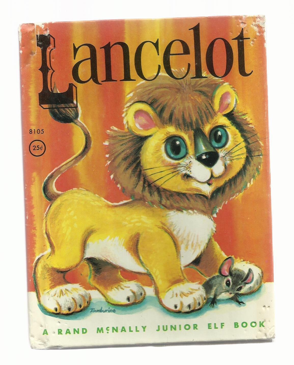 Lancelot, 1963 A Vintage Rand McNally Junior Elf Children's Book