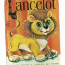 Lancelot, 1963 A Vintage Rand McNally Junior Elf Children's Book