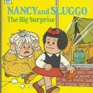 Nancy And Sluggo The Big Surprise, 1974 A Vintage Whitman Tell-A-Tale Children's Book