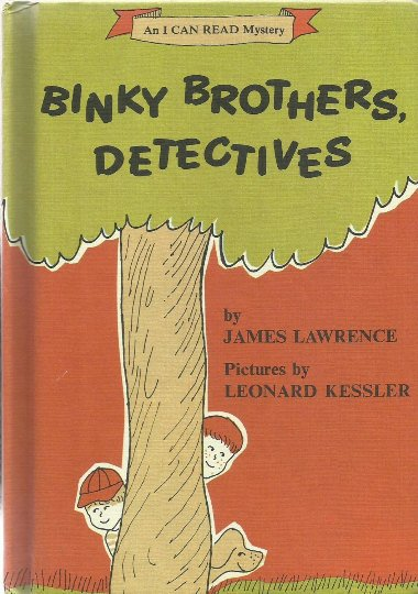 Binky Borthers, Detectives, 1968 A Vintage An I Can Read Children's Book