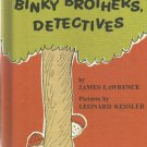 Vintage Children's An I Can Read Mystery Book - BINKY BORTHERS, DETECTIVES 1968