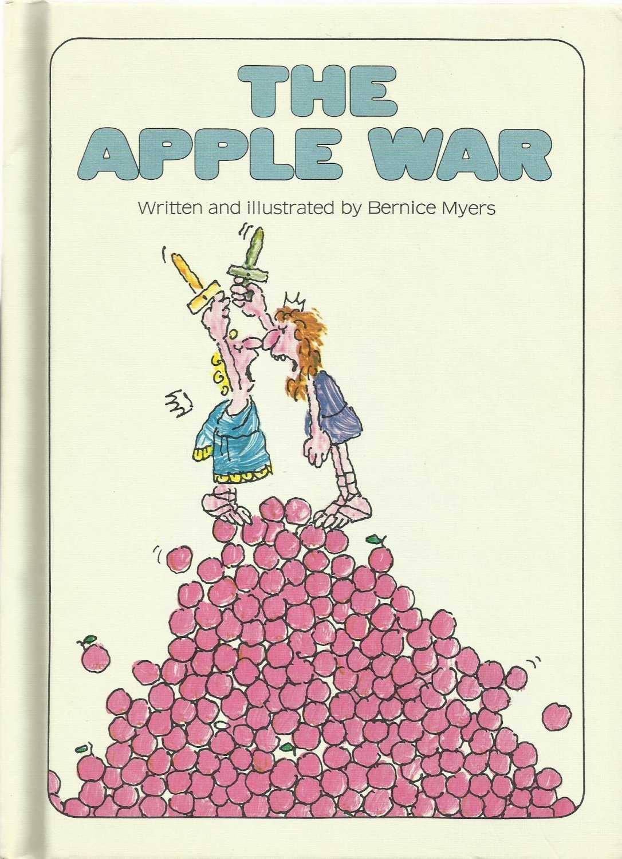 Vintage Children's Parents Magazine Book - THE APPLE WAR 1973