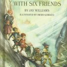 The King With Six Friends, 1968 A Vintage Parents Magazine Children's Book
