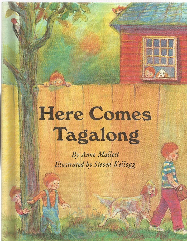 Vintage Children's Parents Magazine Book - HERE COMES TAGALONG 1971