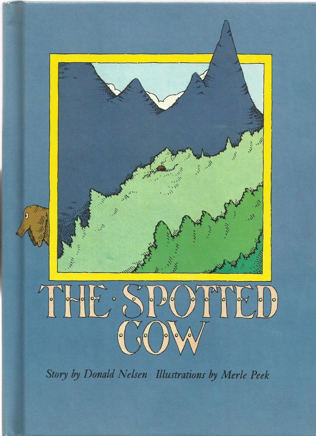 Vintage Children's Parents' Magazine Book - THE SPOTTED COW 1973