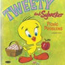 TWEETY And Sylvester Picnic Problems, 1970 A Vintage Whitman Tell-A-Tale Children's Book