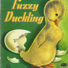 Vintage Children's Whitman Tell-A-Tale Book - FUZZY DUCKLING 1952