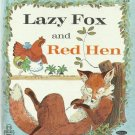 Vintage Children's Whitman Tell-A-Tale Book - LAZY FOX AND RED HEN 1969