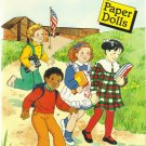 Friends At School Paper Dolls, 1989 Vintage Childrens Paper Doll Book