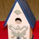 BIRDHOUSE COTTAGE - Hand Painted  #2