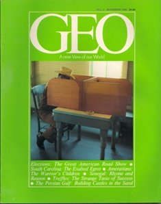 GEO Magazine November 1980