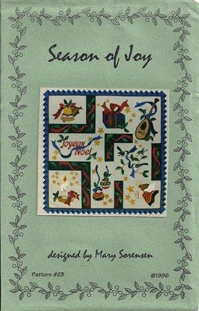 Season of Joy Pattern #23 by Mary Sorensen
