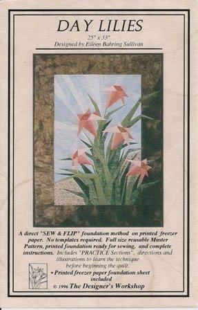 Day Lilies Quilting Pattern by Eileen B. Sullivan
