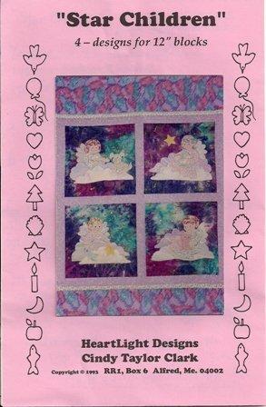 Star Children Quilt Pattern by Heartlight Designs