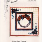 Holly Day Season Dimensional Applique Wallhanging