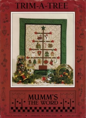 Trim-A-Tree Quilting Pattern by Mumm's the Word Designs