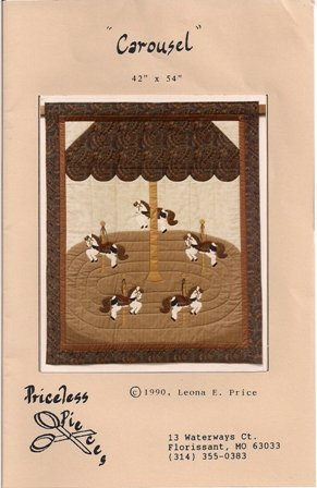 Carousel Quilting Pattern by Priceless Pieces