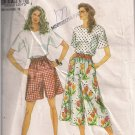 Simplicity 8387 Misses' Split Skirt in Two Lengths and Top Size 8-18