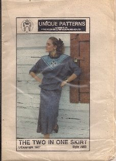Unique Patterns #403 The Two In One Skirt