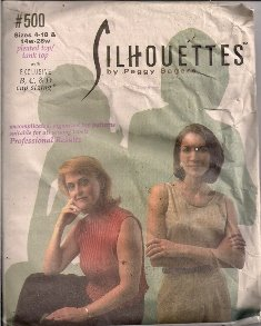 Silhouettes #500 Pleated Top and Tank Top Pattern