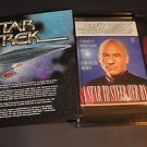Star Trek Masterpiece Capt Jean-Luc Picard Limited Ed Figure+Book SET Playmates