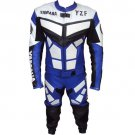 YAMAHA RACING LEATHER MOTOR BIKE MOTORCYCLE SUIT ALL SIZE/ AND LOGO R1 R2 YZF