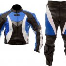 Motorcycle Motocross Racing Riding Leather Suit Jacket & Trouser Full Protection