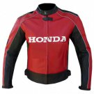 Joe Rocket Honda Mens Red Motorcycle Leather
