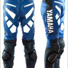 Yamaha Blue Leather Racing Trousers