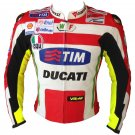 Ducati Tim Motorbike Motorcycle Leather Racing Leather Jacket 2014 Design