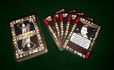 Serial Killer Cards - 54 Custom Designed Playing cards