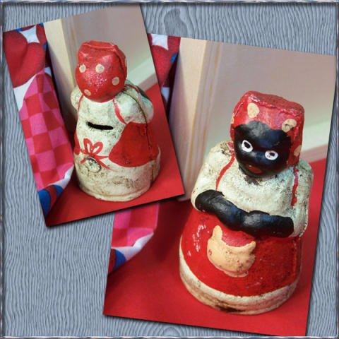 Cast Iron Mammy Bank Jemima Antique Style - 04625