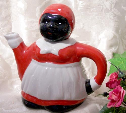 Aunt Jemima Earthenware Teapot - 7207