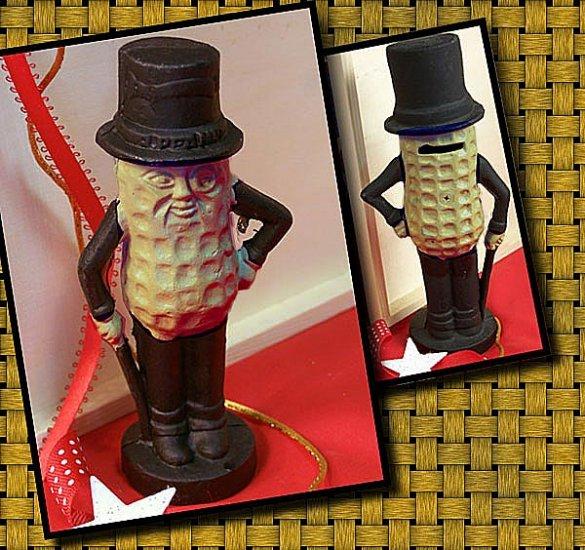 Iron Mr. Peanut Bank - 04623