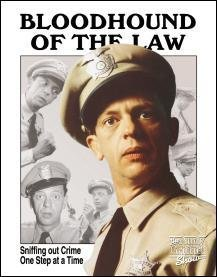 TIN SIGN FIFE - BLOODHOUND OF THE LAW - 1041